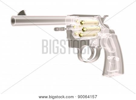 X-ray Gun With Bullets
