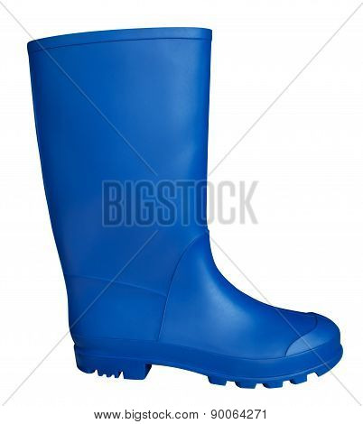 Rubber Boot - Blue