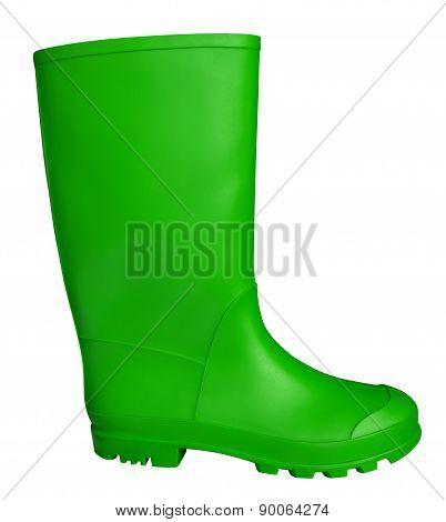 Rubber Boot - Green
