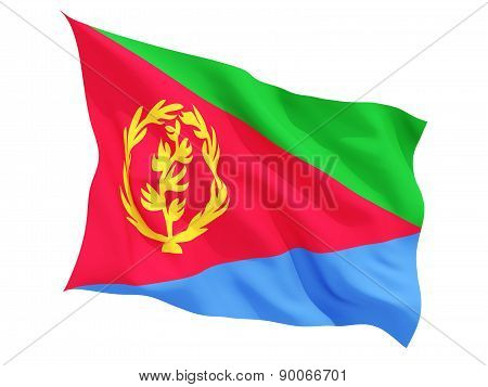 Waving Flag Of Eritrea