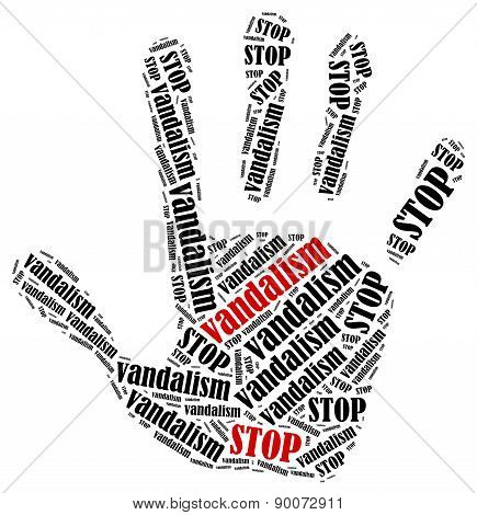Stop Vandalism.