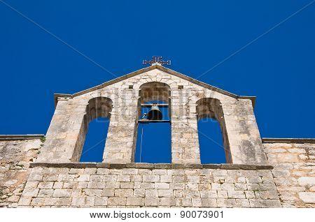 Church of St. Vito dei Greci. Martina Franca. Puglia. Italy.