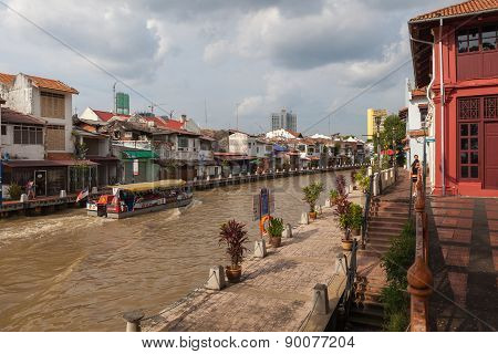 Landscape Of Malacca City