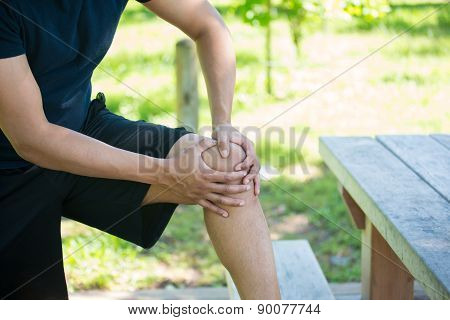 Knee Joint Pain Outside