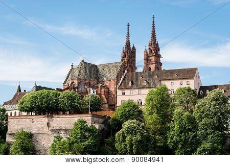 Munster Of Basel, Switzerland