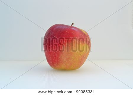 Natural Red Apple Grown Without Chemicals