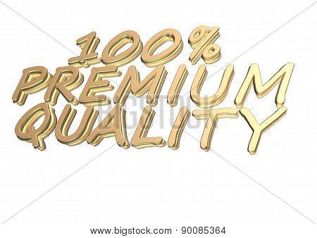 Three-dimensional Inscription 100 Percent Premium Quality