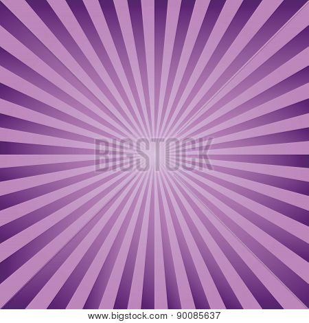 Vintage Abstract Background Explosion Lilac Rays Vector