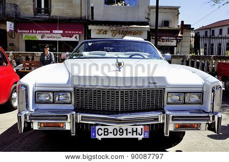 Before A White Cadillac Eldorado 1970
