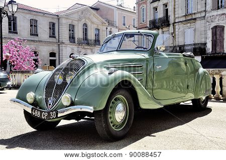 Peugeot 302 Manufactured From 1936 To 1938
