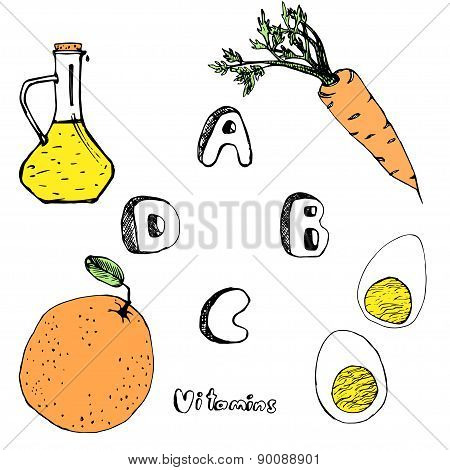 Abcd Vitamins From Foods