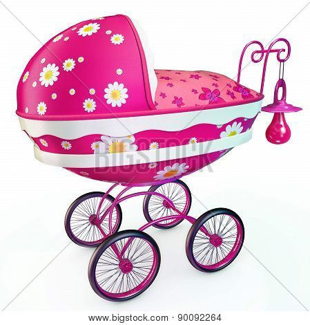Awesome pink buggy