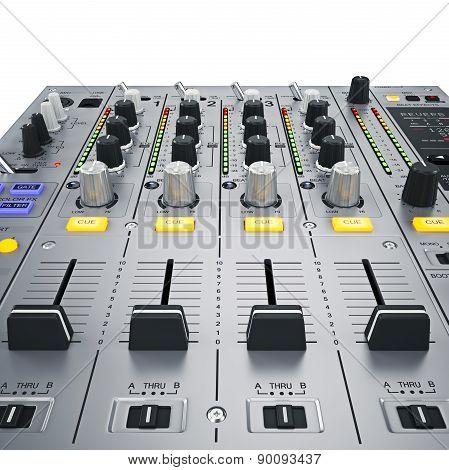 DJ Mixer buttons