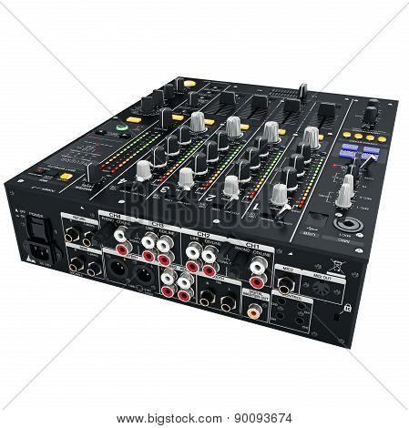 DJ Mixer jacks