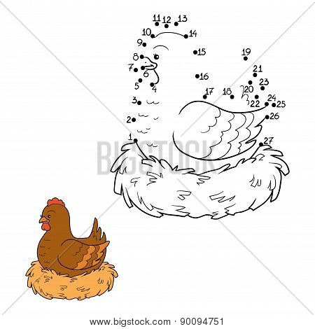 Numbers Game (chicken And Nest)