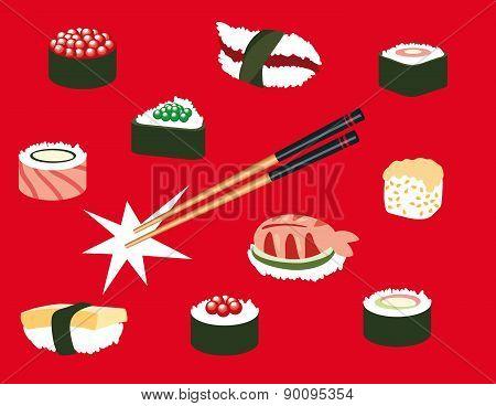 Japanese food Icons