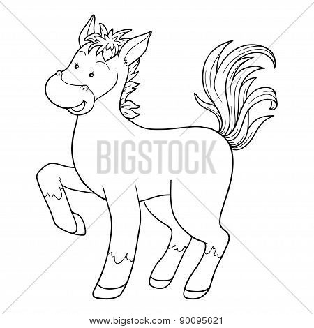 Coloring Book (horse)