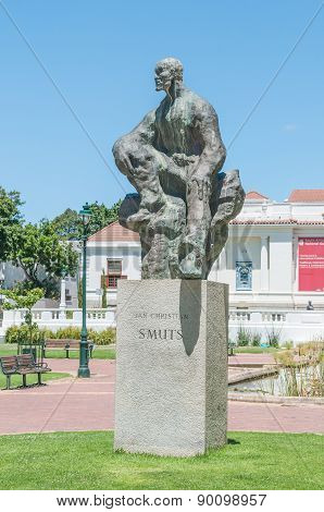 Statue Of Jan Christiaan Smuts