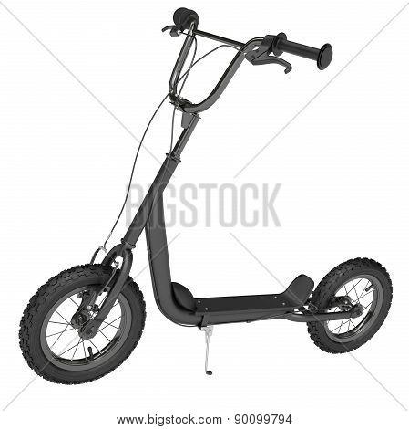 Black Kick scooter