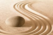 picture of purity  - spa wellness resort sand purity and serenity  background japanese zen garden concept for balance harmony relaxation meditation and concentration pattern - JPG