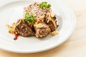 pic of buckwheat  - buckwheat with meat - JPG