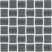 Постер, плакат: Black And White Alternating Bars Seamlessly Repeatable Pattern Vector