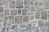 image of wall-stone  - Stone wall background - JPG