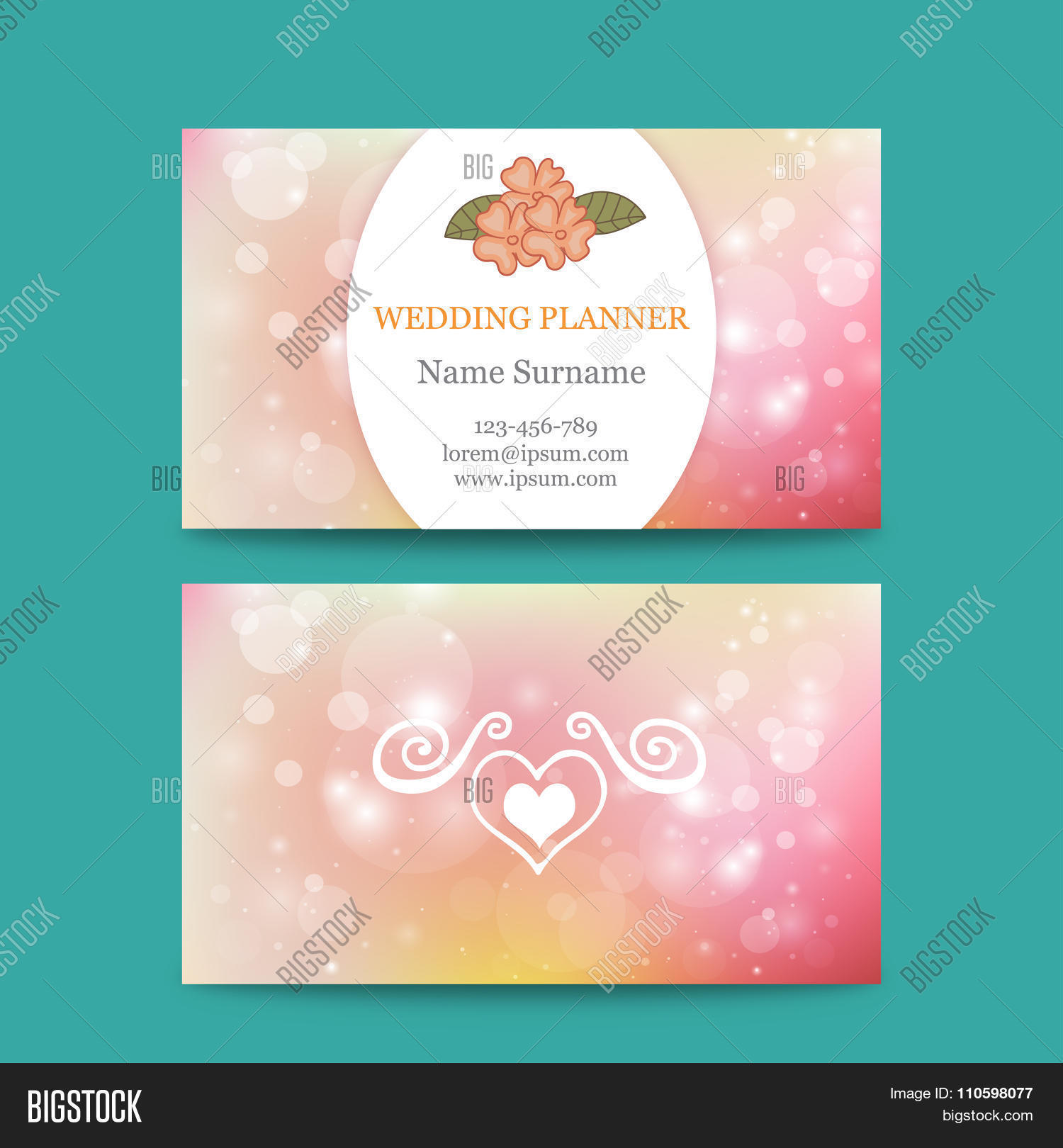 100+ [ Wedding Business Card Template ] | Wedding Hashtag Business ...