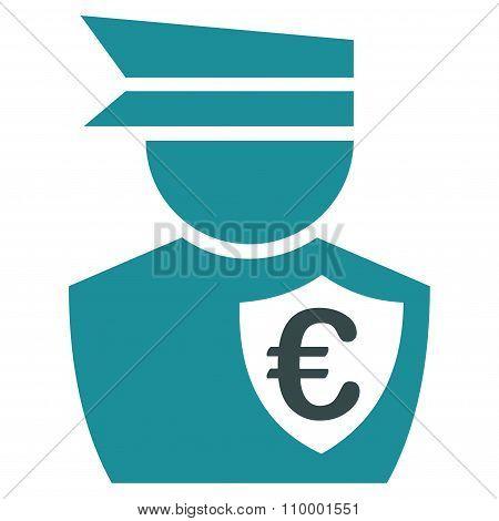 Euro Commissioner Icon