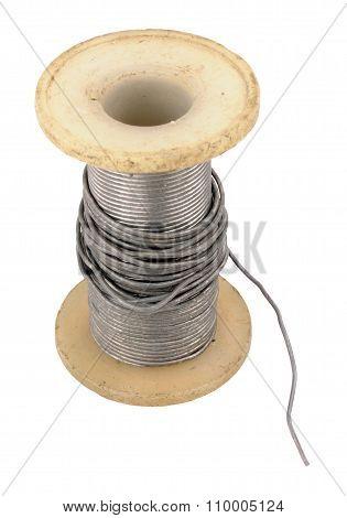 Old Electrical Solder Spool