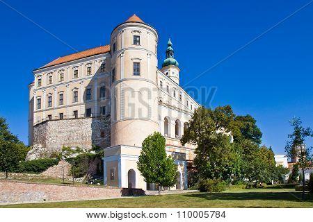 Castle, Town Mikulov, South Moravia, Czech Republic