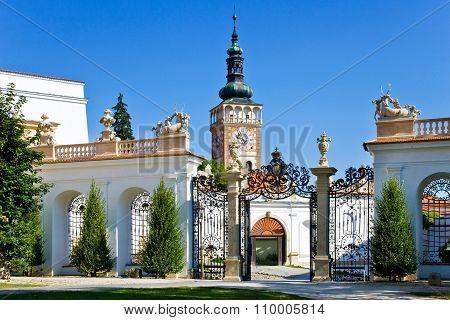 Town Mikulov, South Moravia, Czech Republic