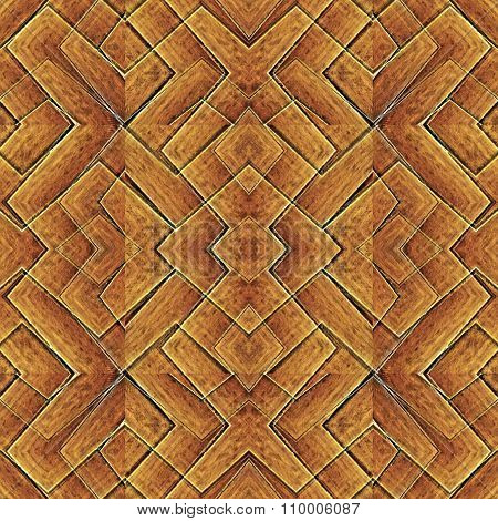 Intricate Geometric Abstract Pattern
