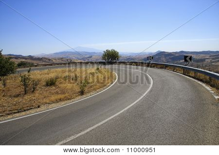 Road In Itlaly