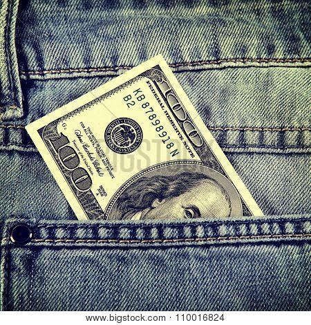 Hundred Dollars In The Pocket