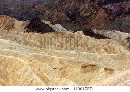 Zabriskie Point, Death Valley National Park, USA