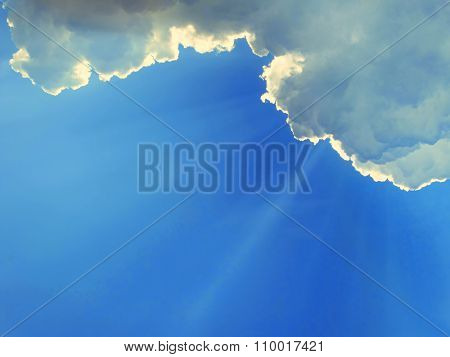 The image of sky