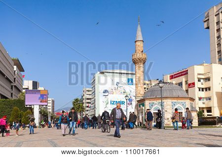 Old Camii Mosque In Izmir, Turkey