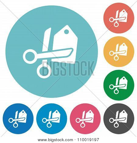 Flat Price Cut Icons