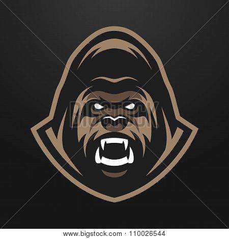Angry Gorilla logo, symbol.
