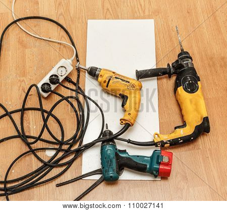 Place Of Electric Socket Repair Process