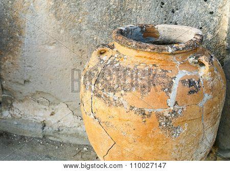 Ancient Phaistos Amphora