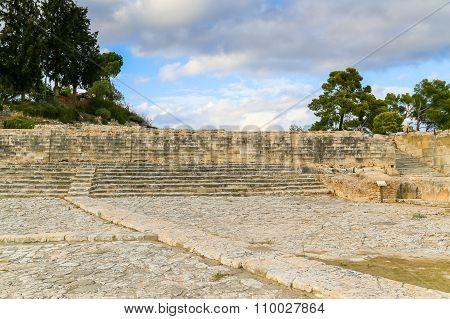 Stairway In Phaistos