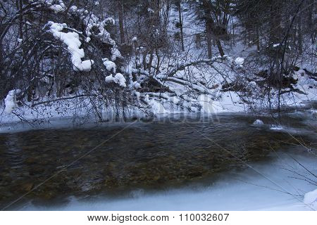 Ice on the Creek