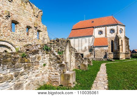Old Cistercian Church in Carta, Romania