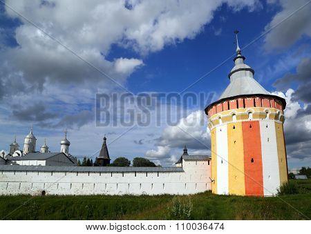 Spaso-Prilutsky monastery in Vologda, Russia