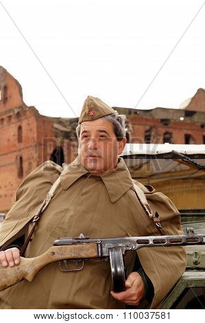 Fighter Of Stalingrad Assault Group