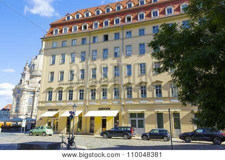 Dresden, Steigenberger Hotel De Saxe