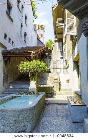 Narrow Street, Fribourg
