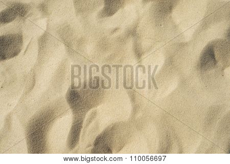 sand closeup as background